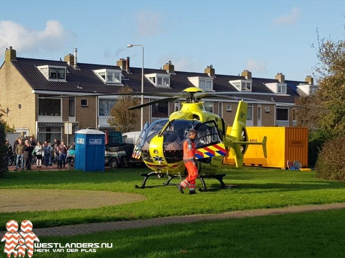 Traumateam inzet voor ongeluk Molenstraat