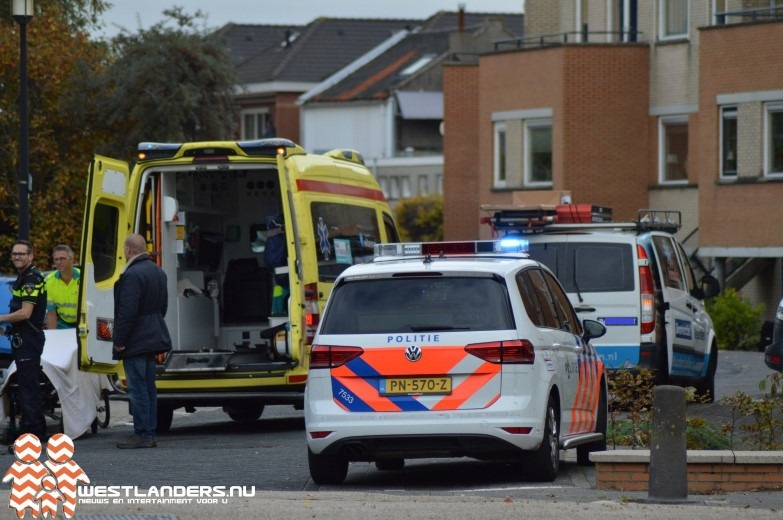 Voetgangster gewond na ongeluk Binnenduin