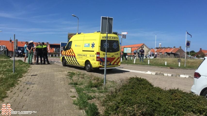 Scooterrijder doorgereden na ongeluk Strandweg