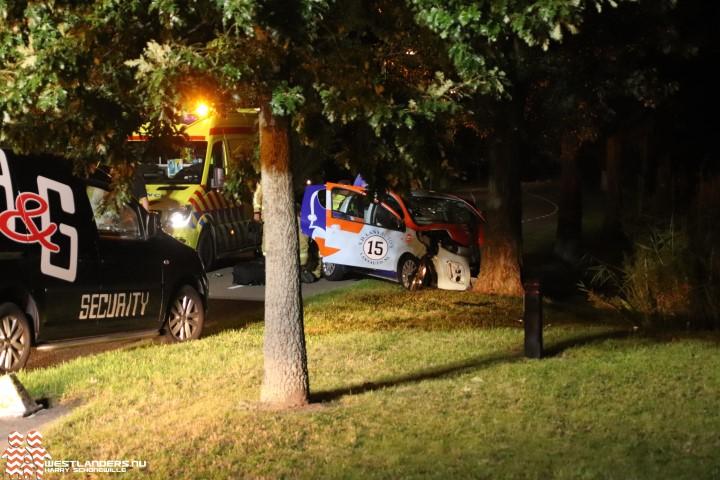 Drie gewonden bij zwaar ongeluk op De Poel