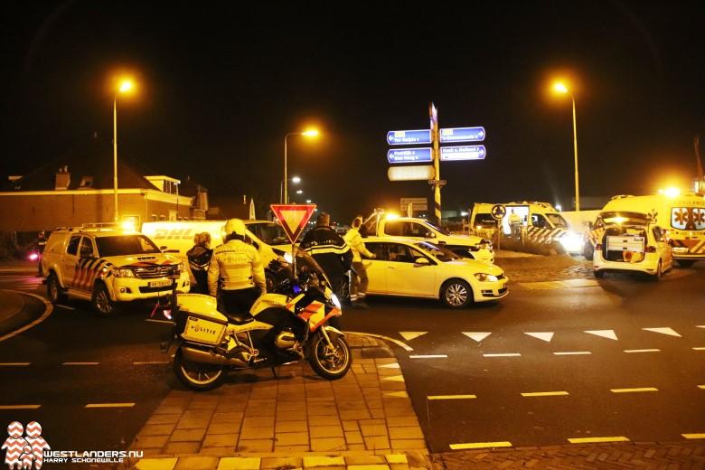 Twee gewonden bij ongeluk Emmastraat