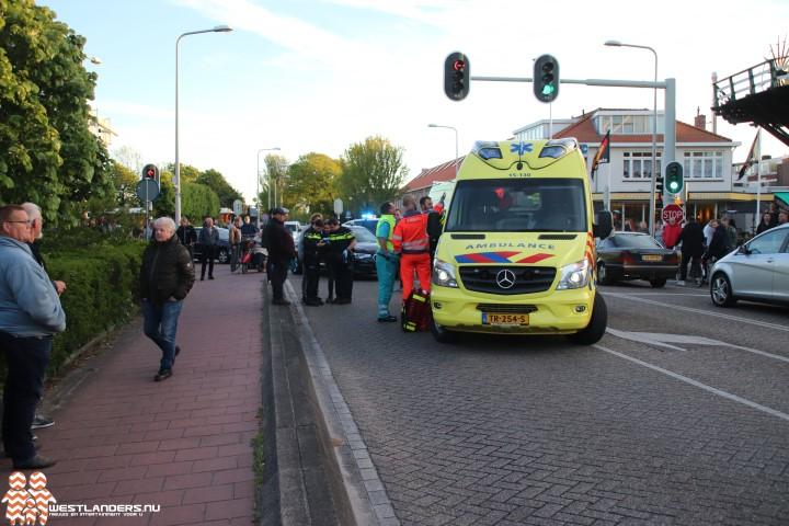 Wielrenner ernstig gewond na ongeluk Haagweg
