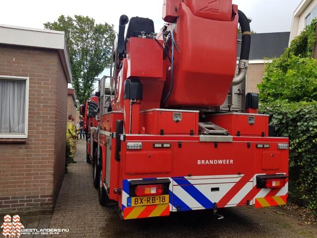 Brandweer rukt uit voor oververhitte vloerverwarming