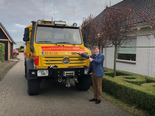 Sjaak van der Tak zwaait af als voorzitter van KNRM Ter Heijde