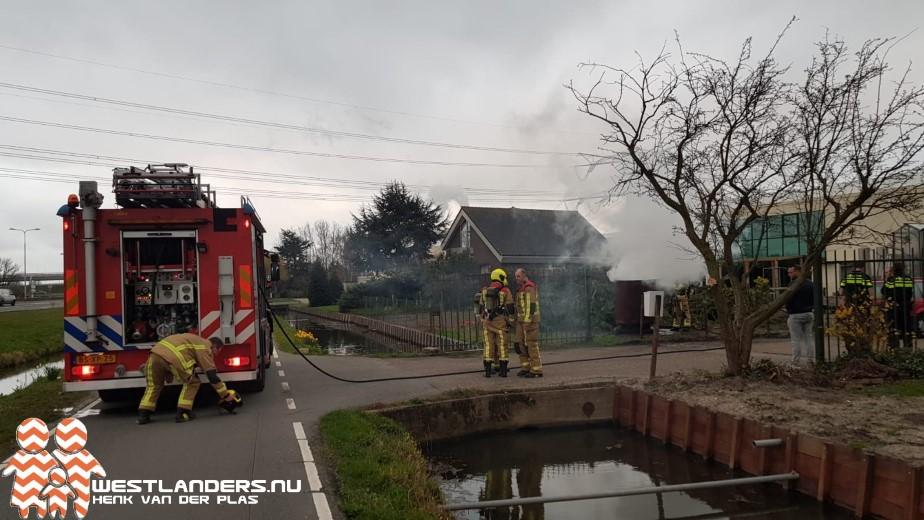 Vreemd voertuigbrandje aan de Vlietweg