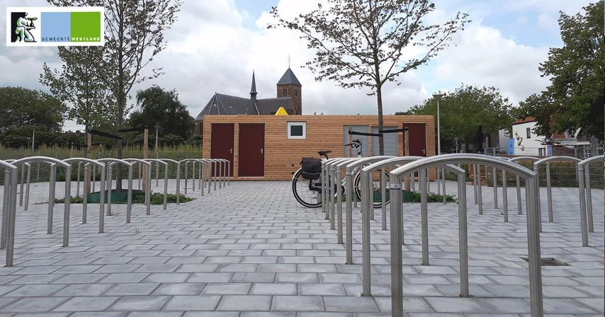 Bewaakte fietsenstalling Stokdijkkade maandag open