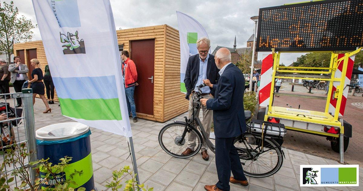 300 Fietsparkeerplaatsen met toezicht in Naaldwijk