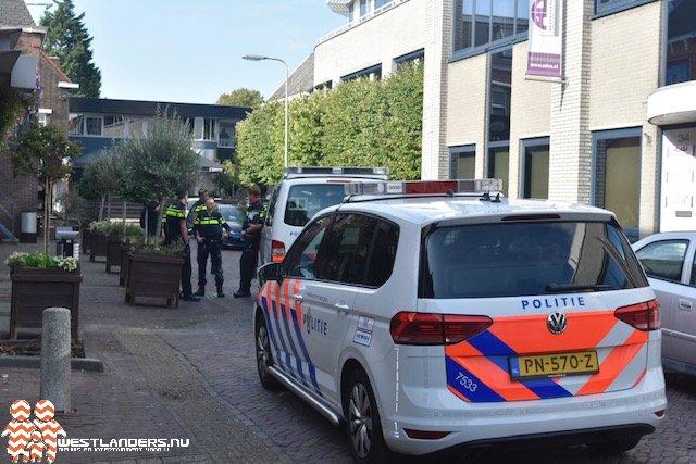 Staandehouding in centrum Naaldwijk