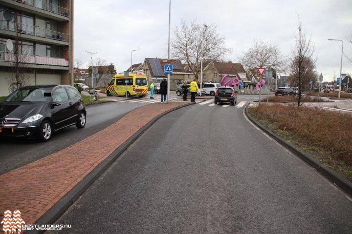 Fietsster gewond bij ongeluk Middel Broekweg