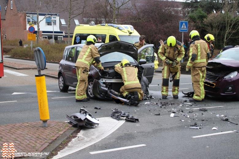 Gewonden bij ongeluk Pijle Tuinenweg