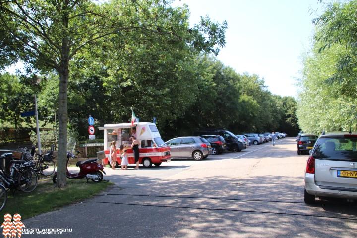 Parkeerterrein Prinsenbos tijdelijk afgesloten