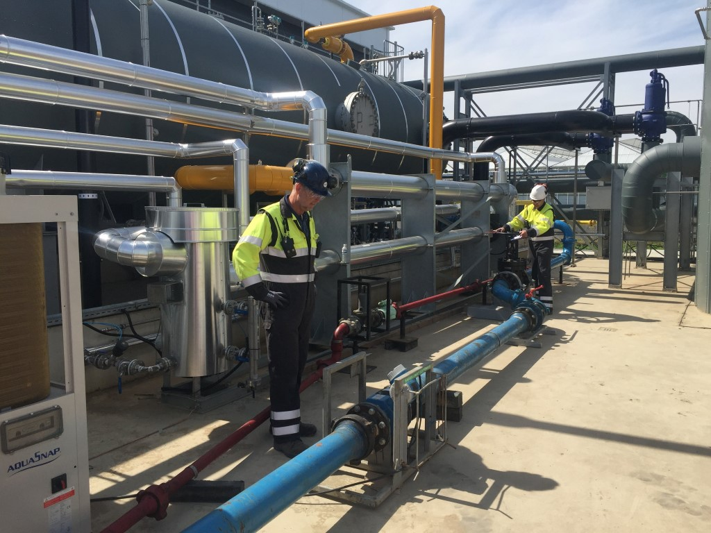 Aardwarmteproject Trias Westland in bedrijf