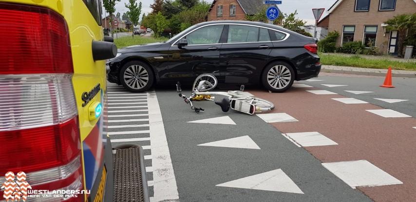 Fietsster gewond bij ongeluk Vredebestlaan