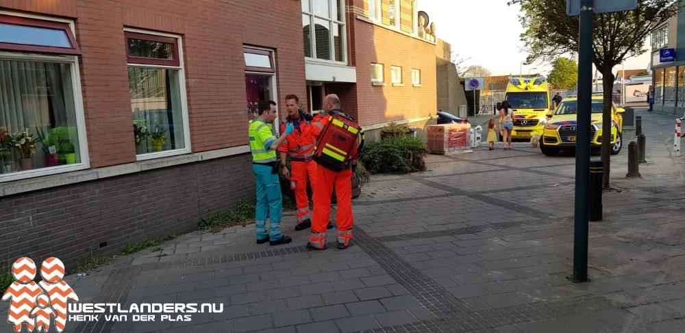 Traumateam voor incident naar Poeldijksevaart