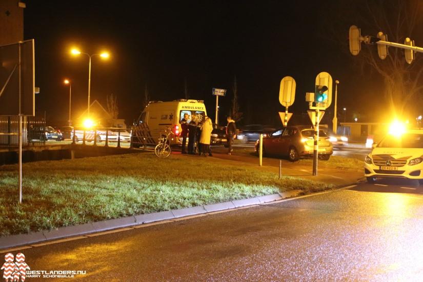 Fietser gewond bij ongeluk Nieuweweg