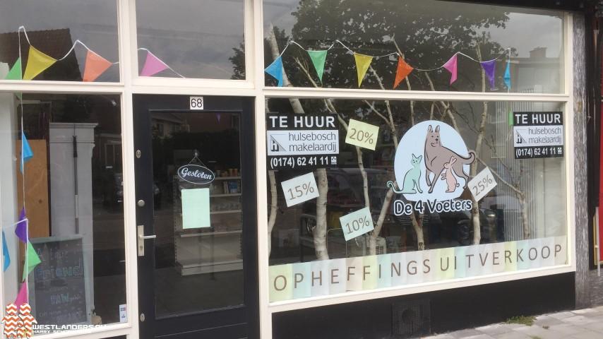 Dierenwinkel in Poeldijk sluit haar deuren
