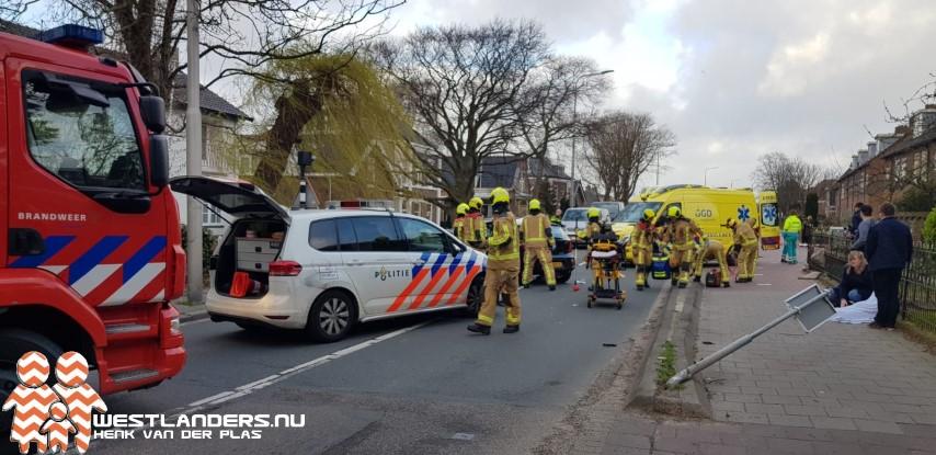 Zwaar gewonde bij ongeluk aan de Voorstraat