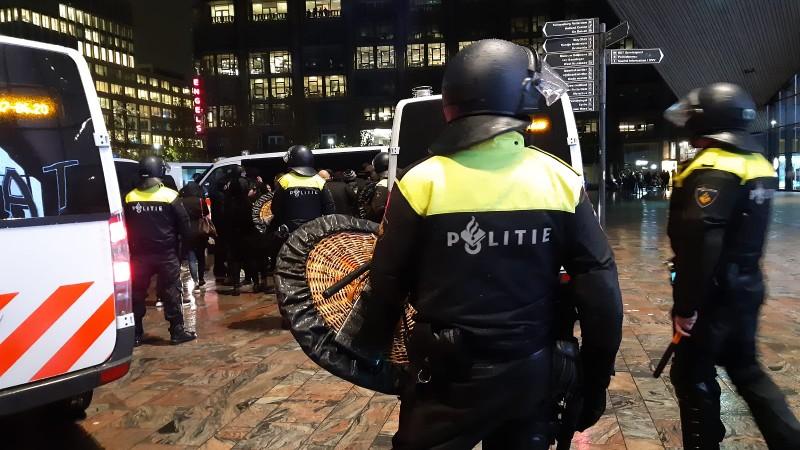 23 aanhoudingen bij ongeregeldheden in Rotterdam