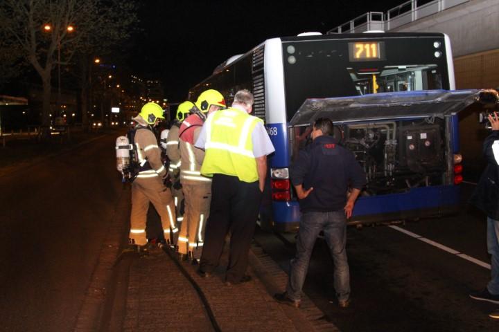 RET bus Hoekse lijn oververhit