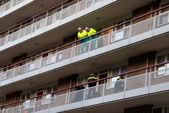 Schiedam - Man getaserd door politie na burenruzie