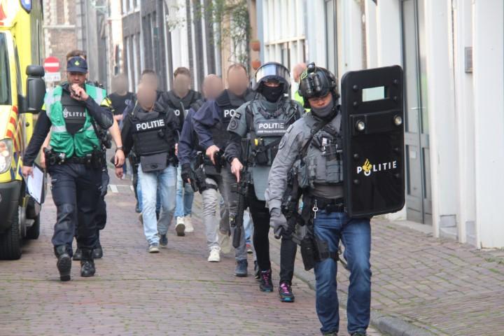 Arrestatieteam ingezet na valse melding schietpartij