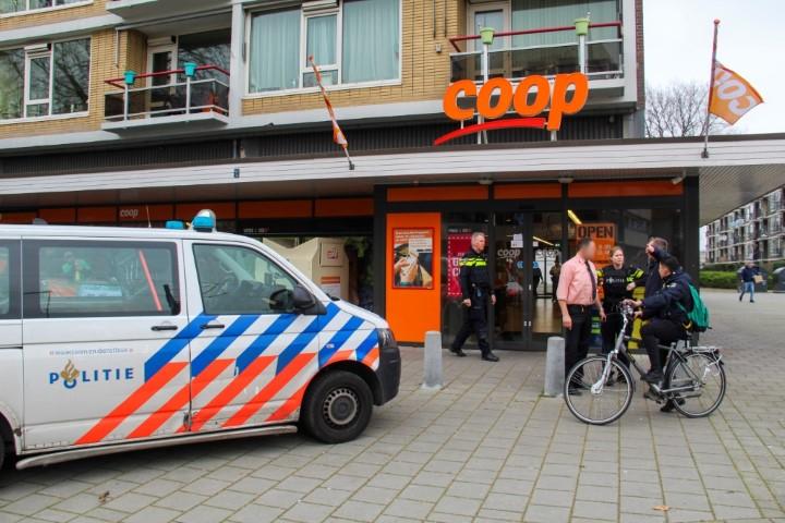 Coop Schiedam wederom doelwit van overval