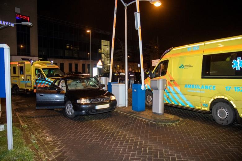 Zwaargewonde aangetroffen bij Franciscus ziekenhuis