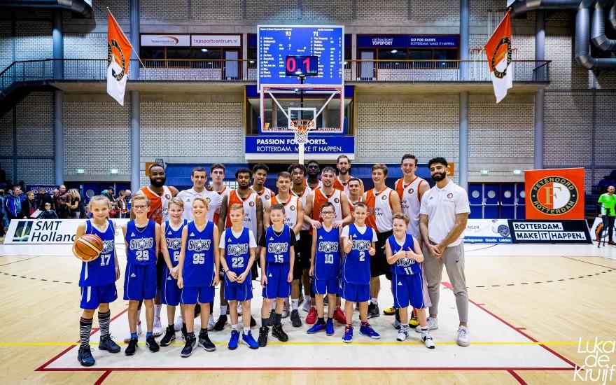 Westland Stars op bezoek bij Feyenoord Basketball