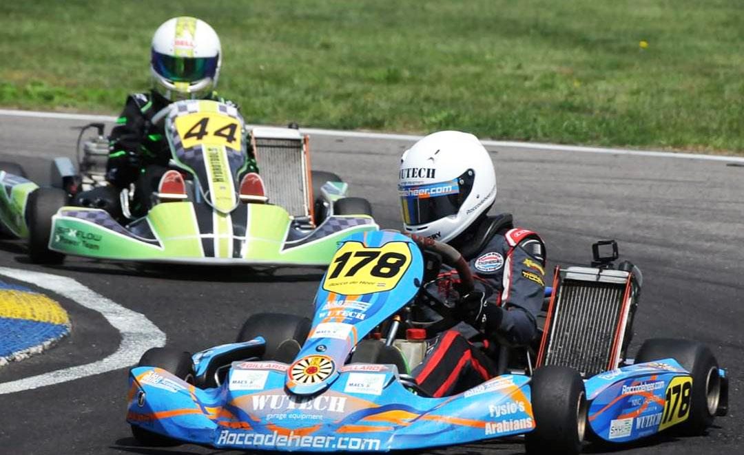 Wisselend succes voor Rocco de Heer bij NK race in Genk