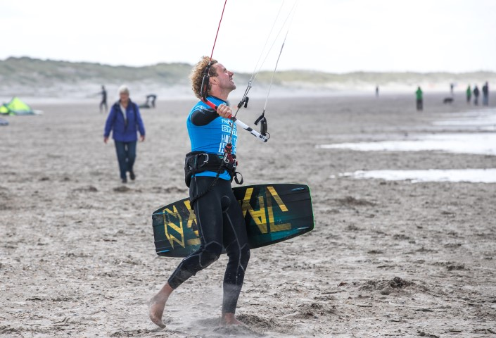 Windraam kitesurftocht Hoek tot Helder opent op 9 maart