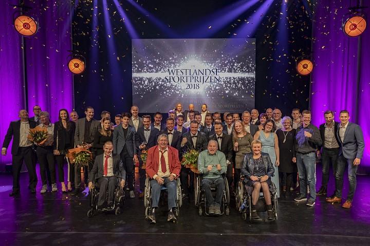 Winnaars Westlandse sportprijzen 2018