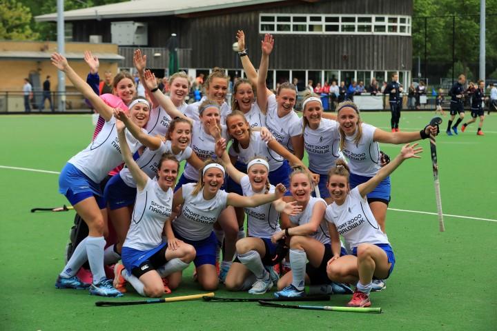 Hockeyvereniging Westland: Dames 1 behaalt kampioenschap