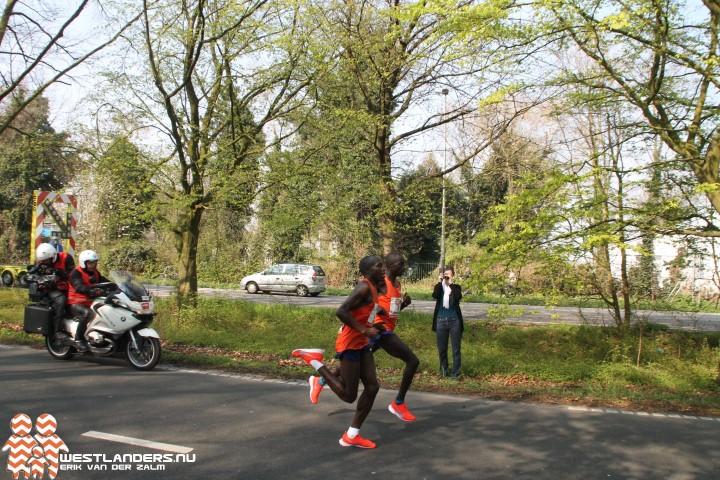 Marius Kipserem winnaar Marathon van Rotterdam