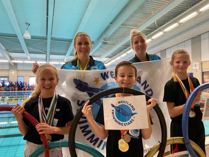 Westland Swimming Stars in de prijzen