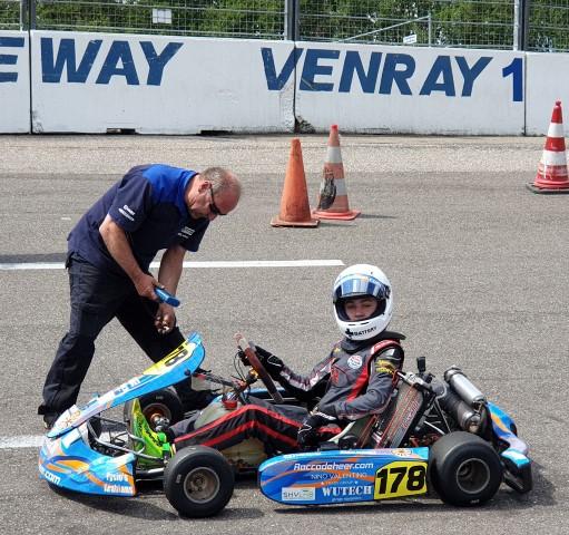 Pech en succes tijdens NK race in Venray