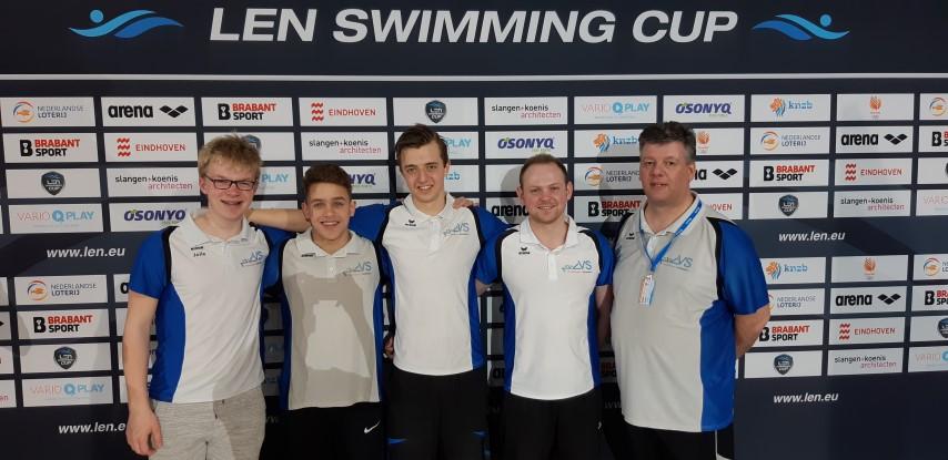 Niels Dijkshoorn weer in de finales van de LEN Swim Cup