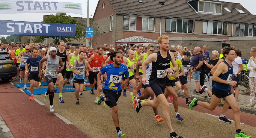 Donder en bliksem tijdens Ruitenburg Run Maasdijk