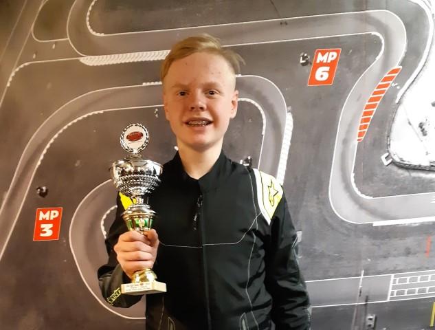 Xander van Dalen pakt derde plaats in kartkampioenschap!