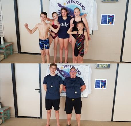Westland Swimming Stars aan de start in Sterrenbad Wassenaar