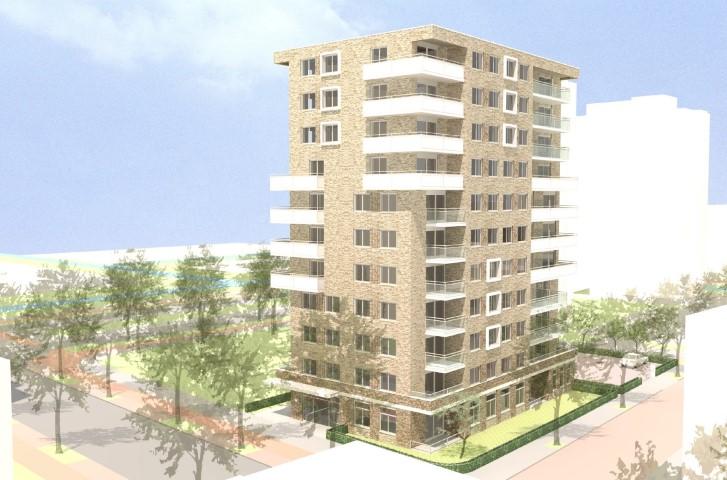 Eerste paal 42 sociale huurwoningen Bouwlustlaan Den Haag