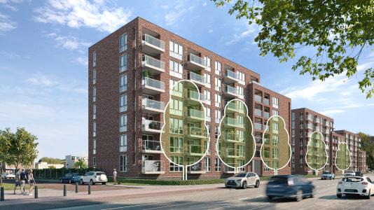 Oplevering 141 woningen Dedemsvaartweg eind 2020