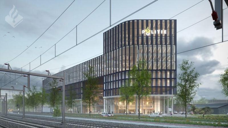Nieuw ontwerp hoofdbureau politie Den Haag