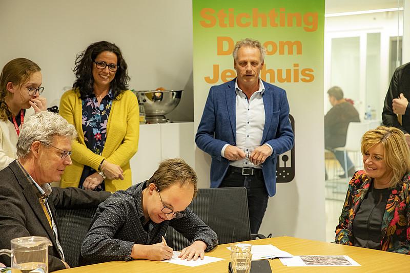 Overeenkomst voor bouw appartementen Zuyt Brugge