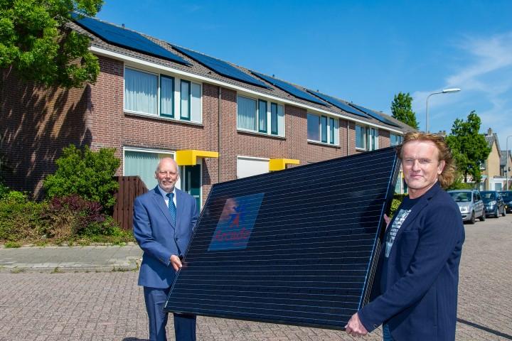 Arcade geeft startsein voor proefproject met zonnepanelen