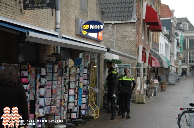 Overval op Primera in Maassluis