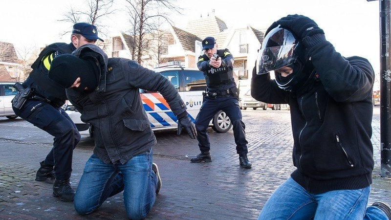 Lichte daling in cijfers politiegeweld