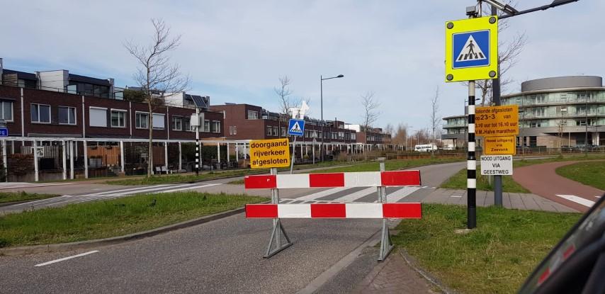 Verkeerschaos zaterdagmiddag rondom centrum Naaldwijk