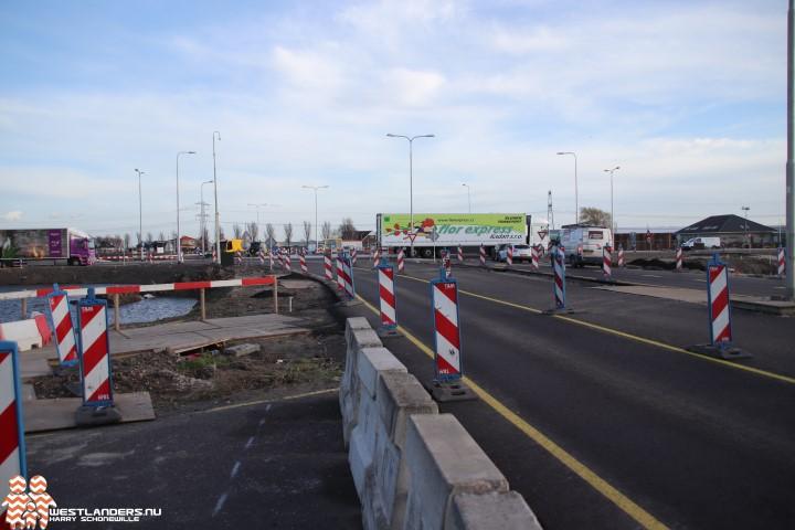 Weekendafsluiting N465 naar afslag Lange Broekweg