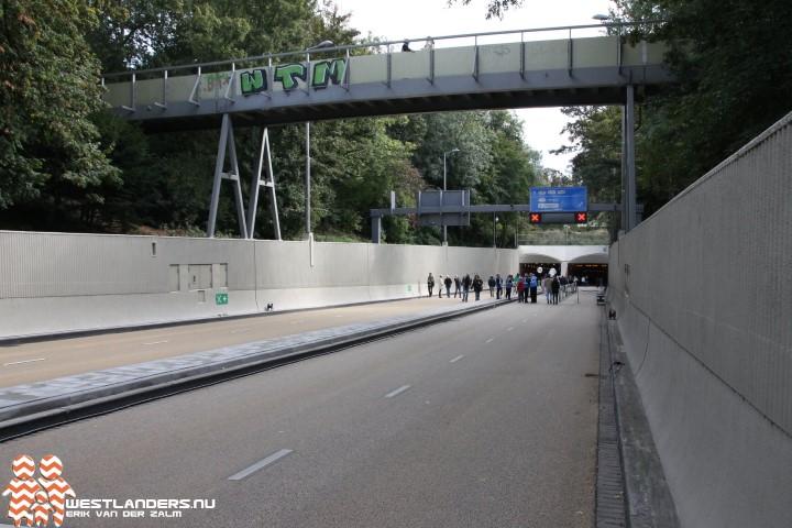 Maastunnel weer in gebruik genomen