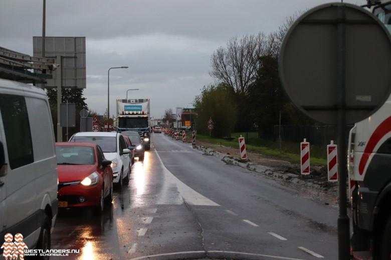 Afsluiting kruising Coldenhovelaan met Oudecampsweg